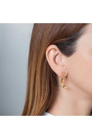 Hermina Athens Women's Melies Moon Earrings