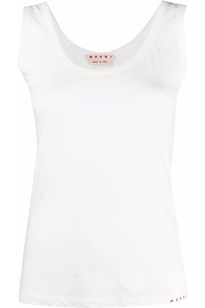 Marni Women Tank Tops - Scoop-neck tank top