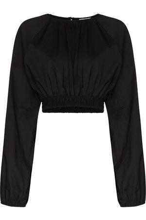 MATTEAU Women Blouses - Shirred cropped blouse