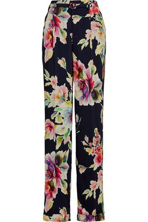 Ralph Lauren Floral-print straight-leg trousers