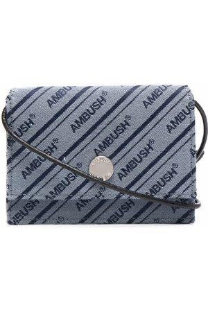 AMBUSH Women Wallets - Striped logo wallet