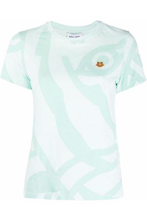 Kenzo Women T-shirts - Tiger crest T-shirt