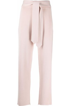 Canessa High-rise knitted trousers