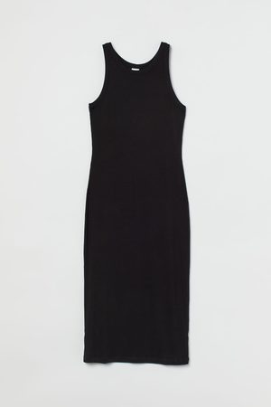 H & M Ribbed jersey dress