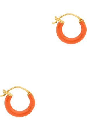 Gimaguas Women Earrings - Gold-plated hoop earrings