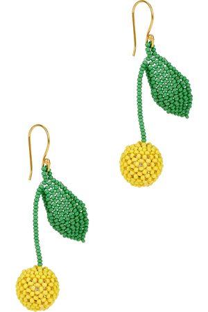 Gimaguas Limón beaded drop earrings