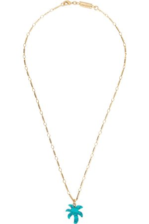 Gimaguas Palm Tree gold-plated necklace