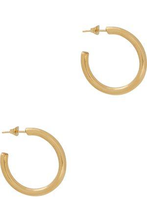 Gimaguas Day -plated hoop earrings