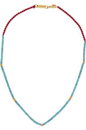 Gimaguas Little Turquoise beaded necklace