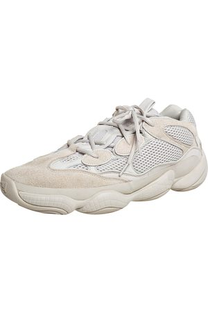 Yeezy X adidas Off Mesh And Suede 500 Blush Sneakers Size 48
