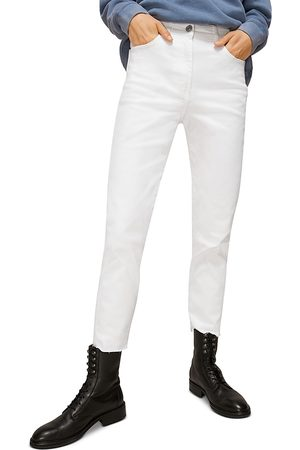 Whistles Frayed Hem Slim Leg Jeans