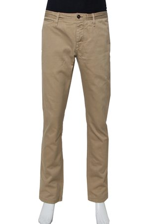 Burberry Brit Cotton Straight Leg Tailored Trousers XL