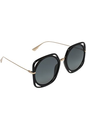 Dior Black / Grey 2M21l Direction Round Sunglasses