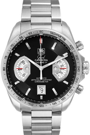 Tag Heuer Stainless Steel Grand Carrera Automatic CAV511A Men's Wristwatch 43 MM