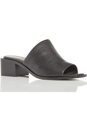 Frye Women's Lucia Block Heel Mules