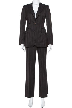 Burberry Prorsum Striped Wool Suit S
