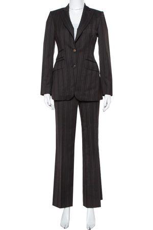 Burberry Prorsum Striped Wool Suit S
