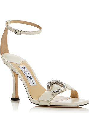 Jimmy Choo Women Heeled Sandals - Women's Marsai 90 Embellished High Heel Sandals