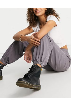 ASOS Slouchy sweatpants in lavender-Grey
