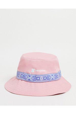 Berghaus Aztec bucket hat in pink-Neutral