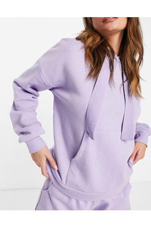 Chelsea Peers Women Hoodies - Eco jersey lounge hoodie in lilac
