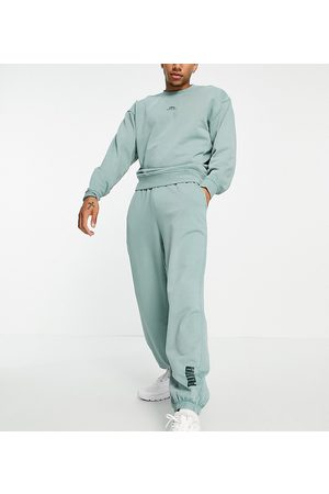 PUMA Oversized sweatpants in washed exclusive to ASOS