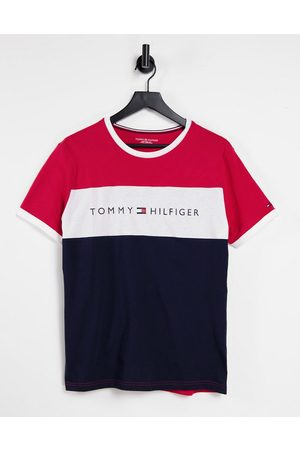 Tommy Hilfiger Lounge T-shirt with chest panel in