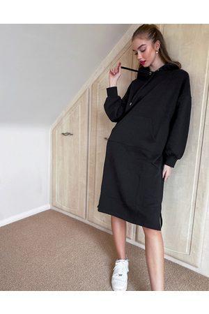 Monki Zandra organic cotton hoodie dress in