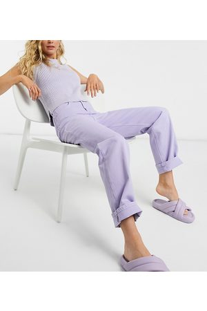 Reclaimed Vintage Inspired 90s dad jeans in lilac wash