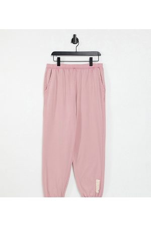 PUMA Oversized sweatpants in washed powder exclusive to ASOS