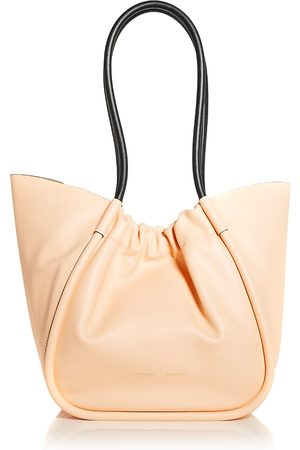 Proenza Schouler Large Ruched Leather Tote