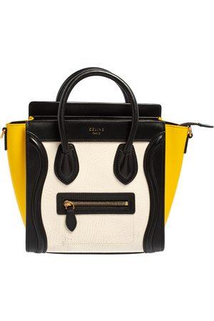 Céline Céline Tri Color Leather Nano Luggage Tote