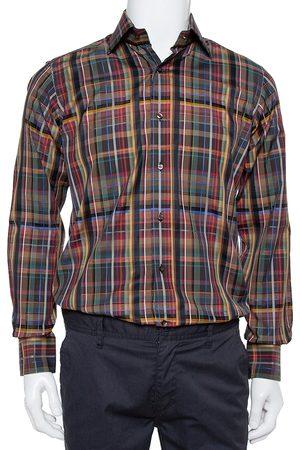 Etro Cotton Button Front Shirt S
