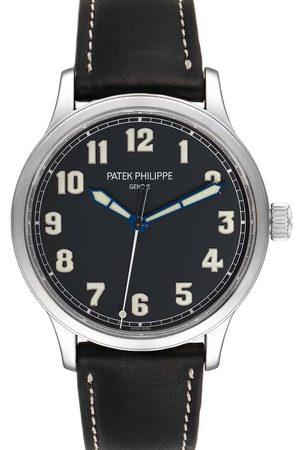 PATEK PHILIPPE Stainless Steel Calatrava Pilot Limited Edition 5522A Men's Wristwatch 42 MM