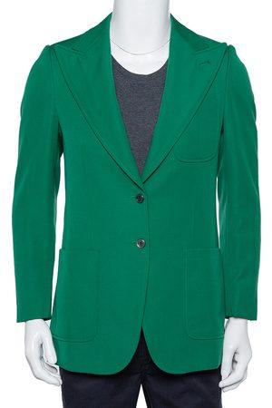 Gucci Wool Button Front Blazer XS
