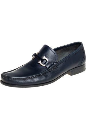Salvatore Ferragamo Leather Parigi Gancini Loafers Size 42.5