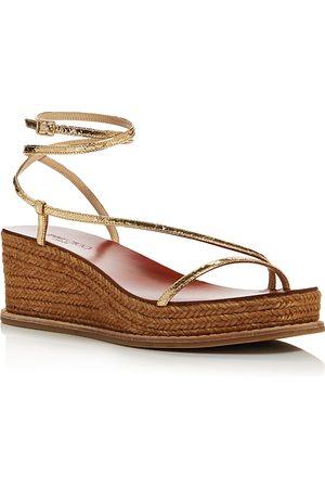 Jimmy Choo Women's Drive 60 Wedge Heel Sandals