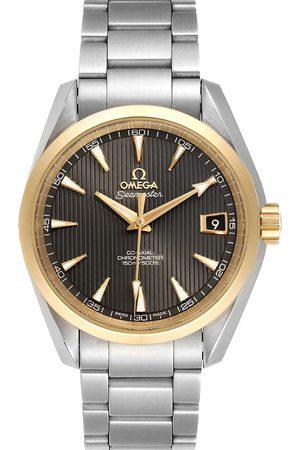 Omega 18k Rose Gold And Stainless Steel Seamaster Aqua Terra 231.20.39.21.06.003 Men's Wristwatch 39 MM