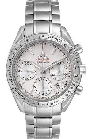 Omega Stainless Steel Speedmaster Date 323.10.40.40.02.001 Men's Wristwatch 40 MM