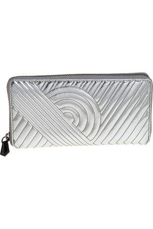 REED KRAKOFF Leather Zip Around Wallet