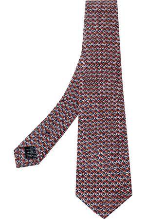 Dunhill Men Neckties - Printed Mulberry Silk Classic Tie