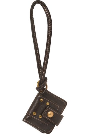 Chloé Dark Leather Key Holder