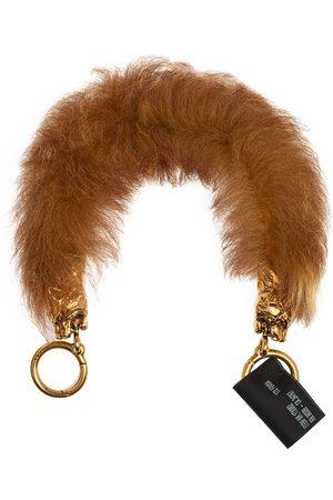 Prada Women Bags - Fur Tiger Head Bag Strap