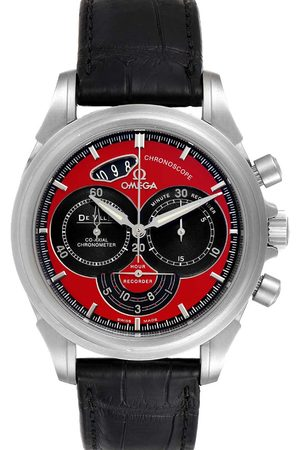 Omega Men Watches - Stainless Steel DeVille Chronoscope Co-Axial 4851.61.31 Men's Wristwatch 41 MM