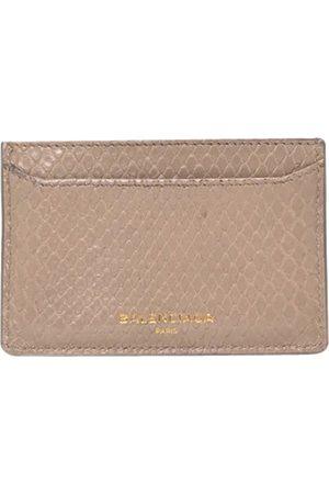 Balenciaga Python wallet