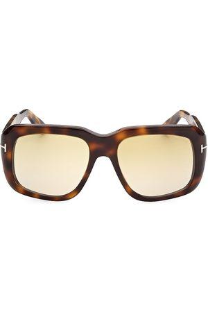 Tom Ford Men's Bailey 57MM Geometric Sunglasses - Havana