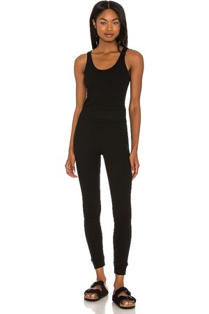 MONROW Sporty Tank Jumpsuit in .