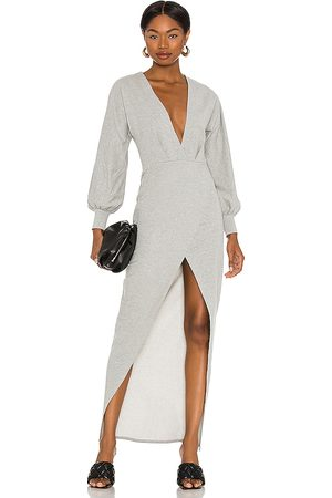 Michael Costello Women Party Dresses - X REVOLVE Melanie Midi Dress in Grey.