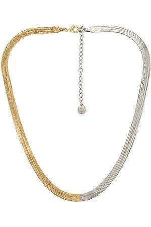 Baublebar Women Necklaces - Half & Half Gia Necklace in Metallic .