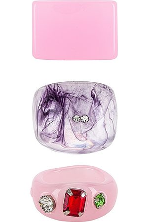 8 Other Reasons Women Rings - Acrylic Ring Set in .